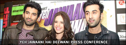 Yeh Jawaani Hai Deewani press conference