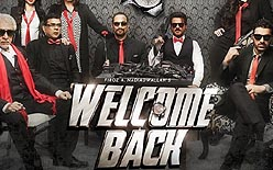 Poster of movie Welcome Back